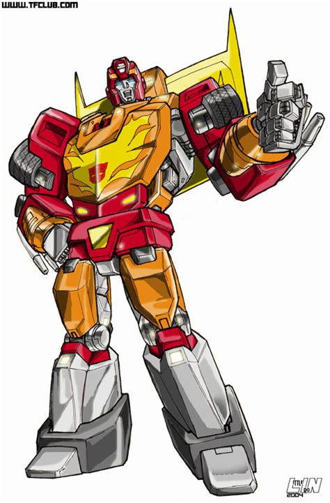rodimus prime by littleiron on deviantart