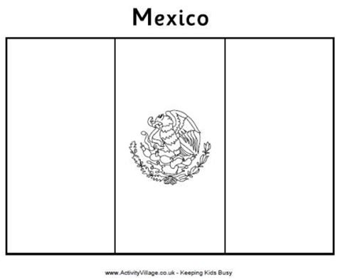 flag coloring page for kindergarten mexican flag coloring page preschool quot 3rd grade