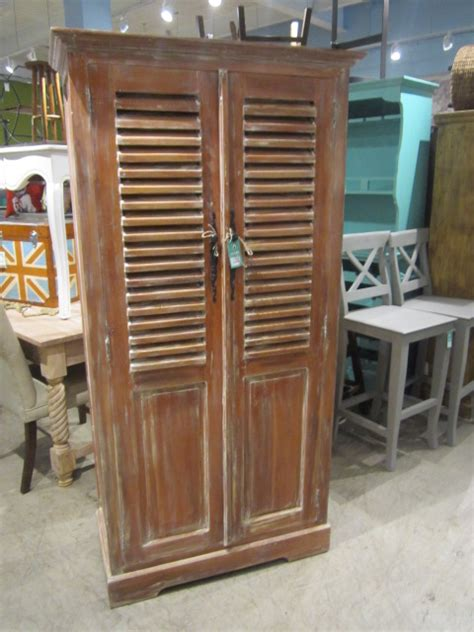 Louvered Door Cabinet Louvered Door Cabinet Nadeau Raleigh