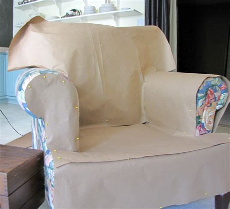 ottoman slipcover pattern goodbye house hello home blog armchair and ottoman