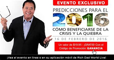 predicciones para el 2016 predicciones para el 2016 predicciones para el 2016 c 243 mo beneficiarse de la crisis