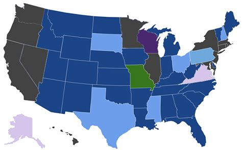 concealed carry reciprocity map concealed carry reciprocity