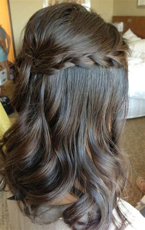 Wedding Hairstyles Half Up Half Braid by Wedding Hair Half Up Braid Fade Haircut