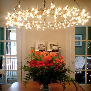 Mini Led Chandelier Home Dzine Home Decor Use Fairy Lights Or String Lights