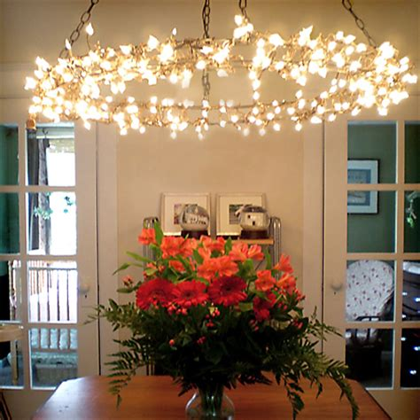 Chandelier Pulley Fairy Hanging Led Lights Magical Chandelier Home