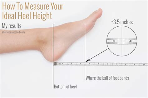 How To Make High Heels More Comfortable To Walk In by How To Measure Your Ideal Heel Height Alterations Needed