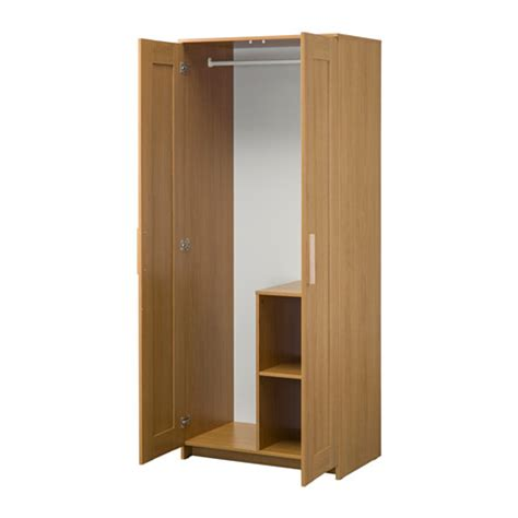 ikea brimnes armoire brimnes wardrobe with 2 doors oak effect 78x190 cm ikea