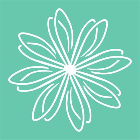kaisercraft stencils template flower