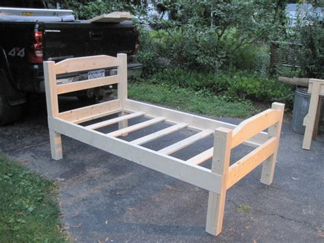 diy twin bed frame plans  woodworking
