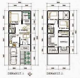 contoh gambar denah rumah minimalis terbaru  godeanwebid