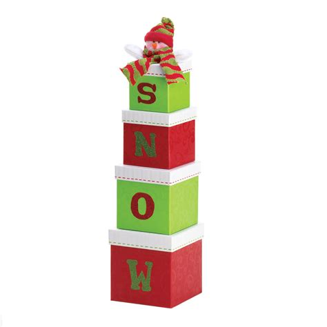 wholesale quot snow quot holiday gift boxes buy wholesale snowmen