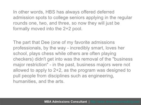 How To Get Into Harvard Mba 2 2 by Hbs 2 2s New Look