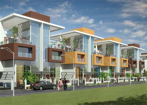 villa in mumbai shah orchid villas by shah group builders in kharghar