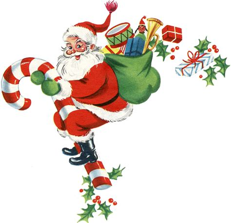 clipart santa free vintage clip santa santa santa the