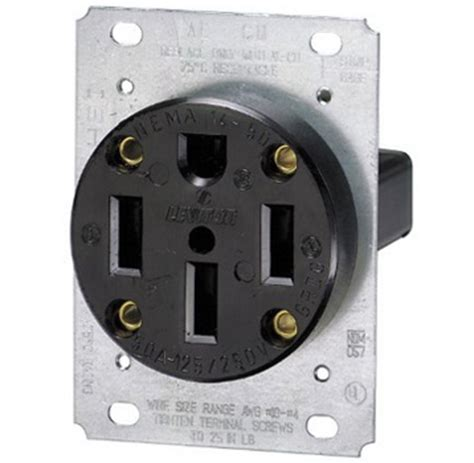wiring diagram for range receptacle diagram free