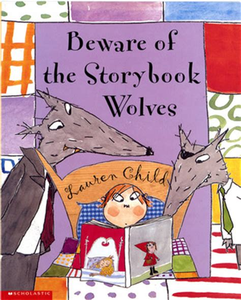 show me a picture book of beware of the storybook wolves by child reviews