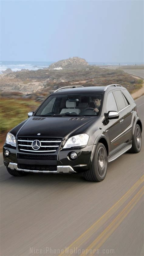 Car Wallpaper For Iphone 6 Plus by Mercedes Ml Class Ml63 Amg Iphone 6 6 Plus Wallpaper