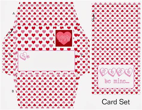 printable valentine envelope template scrapnteach2 valentine envelope and card free printables