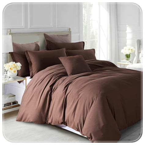 Plain Bed Linen Sets Plain Bedding Sets Plain Dyed Duvet Cover Quilt Bedding Set With Pillowcase Eu De Nil Plain