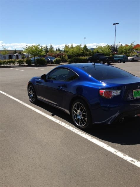 scion frs tint my new frs with new rims tires tint and k n filter