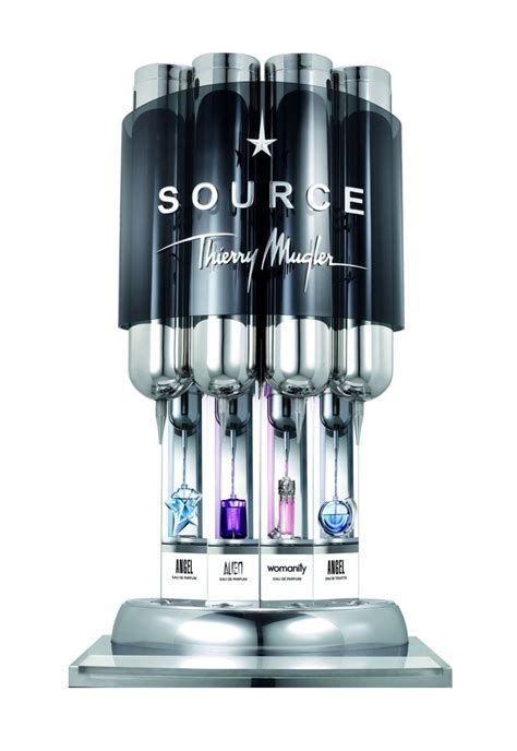 Parfum Refill Per Mili thierry mugler unveils perfume refill station