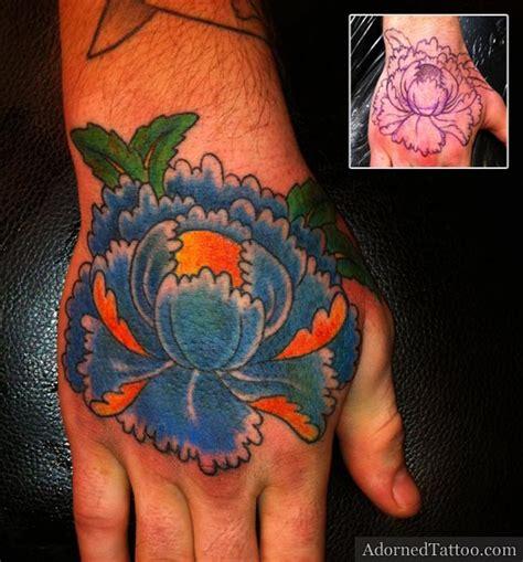 henna tattoo verschmiert 28 blue peony adorned 60 gorgeous peony