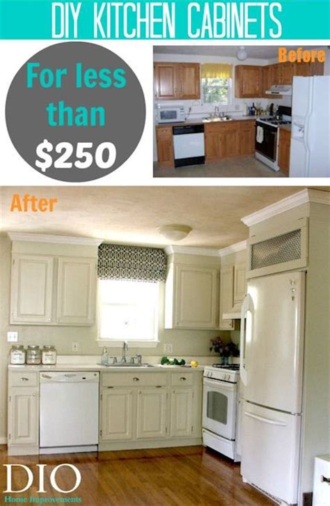 diy kitchen cabinet makeover diy kitchen cabinets less than 250 kitchen cabinet