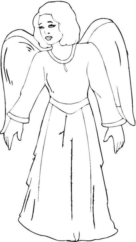 flying angel coloring page christmas angel with trumpet flying angel coloring pages