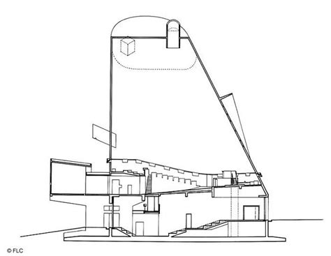 building layout en español gallery of ad classics church at firminy le corbusier 30