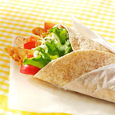 mango chicken wraps recipe taste of home