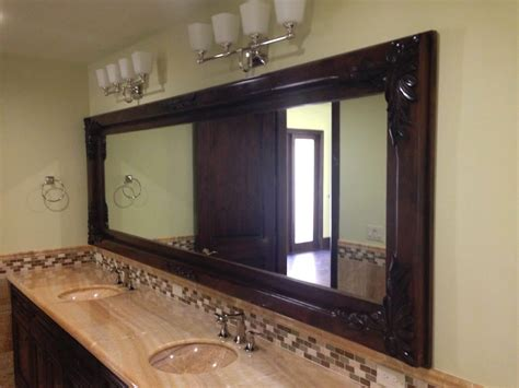 Custom Framed Mirrors For Bathrooms Custom Pictures Frames Choice Image Craft Decoration Ideas
