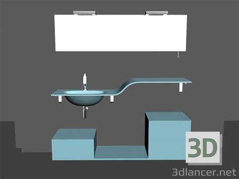 3d model modular system for bathroom song 12