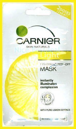 Masker Garnier Lemon garnier light lightening lemon essence peel mask