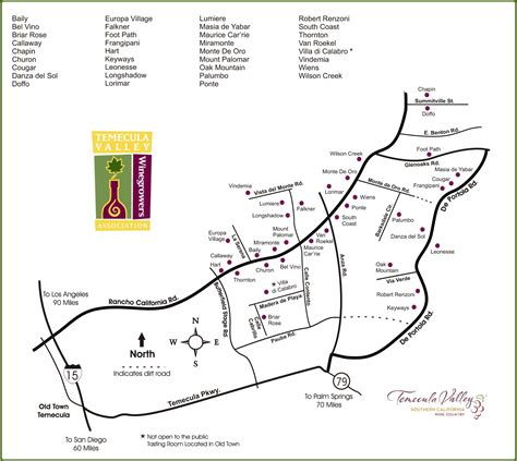 map of temecula temecula winery map hetbeste