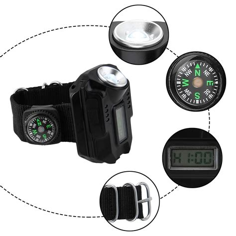 smartlite rechargeable underwater led light new rechargeable outdoor led flashlight wrist watch light