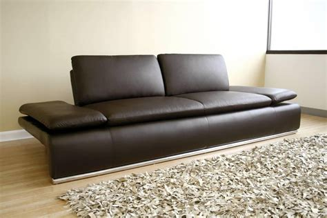 brown leather modern sofa 20 best contemporary brown leather sofas sofa ideas