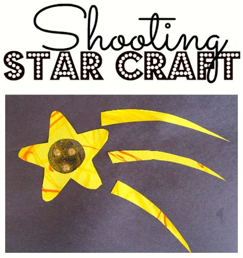 star craft preschool printable activities shooting star craft no time for flash cards