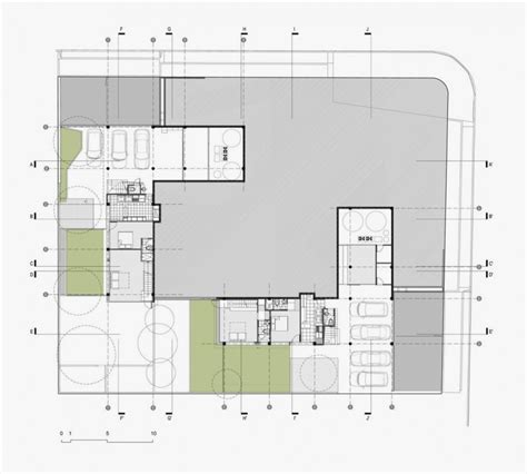 l shaped modern house plans two modern house that has same l shape twin house home building furniture and