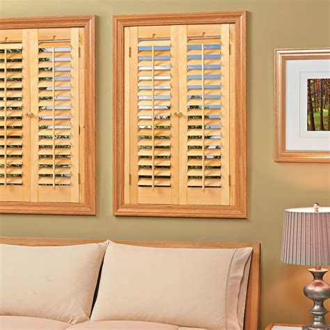 Faux Wood Shutters Interior by Custom Faux Wood Interior Shutters Strangetowne How To