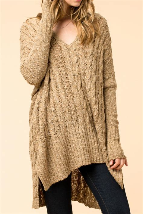oversized knit sweater hyfve oversized cable knit sweater from branford by