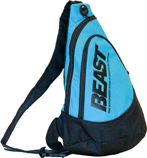 5 11 Beast Black Blue the beast wear sling bag by beast sports nutrition at