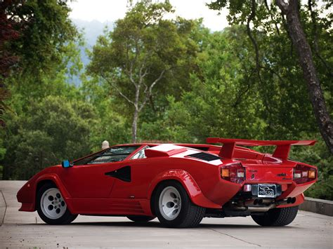 89 Lamborghini Countach Lamborghini Countach Lp5000 S Quattrovalvole 1985 87