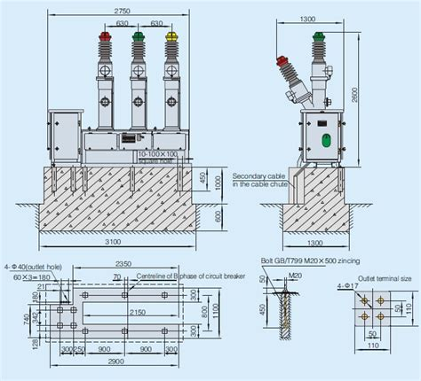 sf6 circuit breaker diagram circuit and