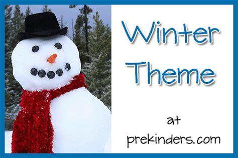Winter Theme Prekinders | winter theme prekinders