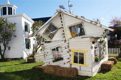 dorothy s house wizard of oz after oz dorothy s storm ravaged house remade of scrap urbanist