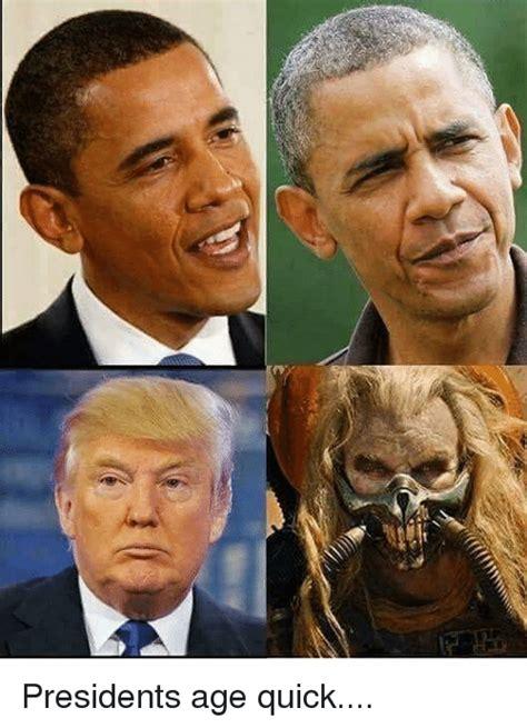 Meme Quick - presidents age quick meme on sizzle