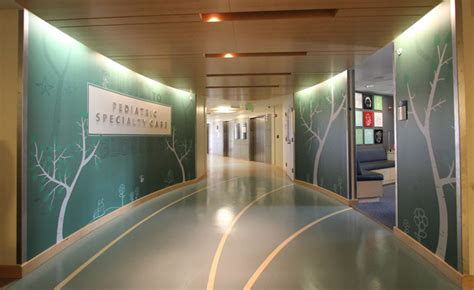 Autumn Wall Murals seattle hospital uses walls to heal sick kids art with heart
