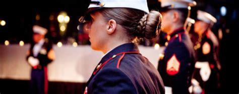 marine corps bun regulations female marine tumblr