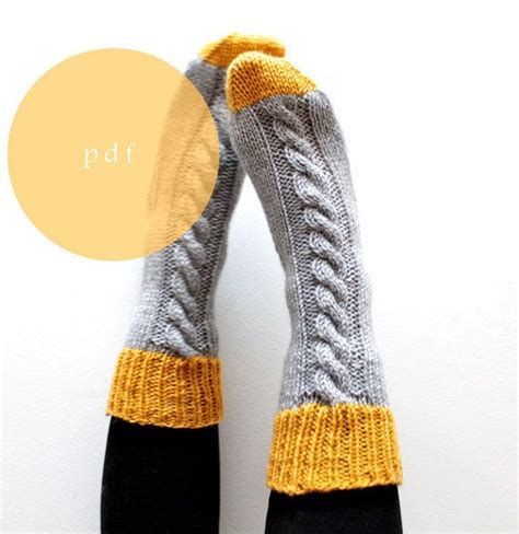 knitting pattern thick socks 17 best images about knit on pinterest