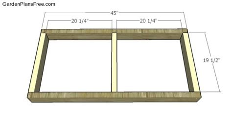building a bench seat frame swing bench plans free garden plans how to build